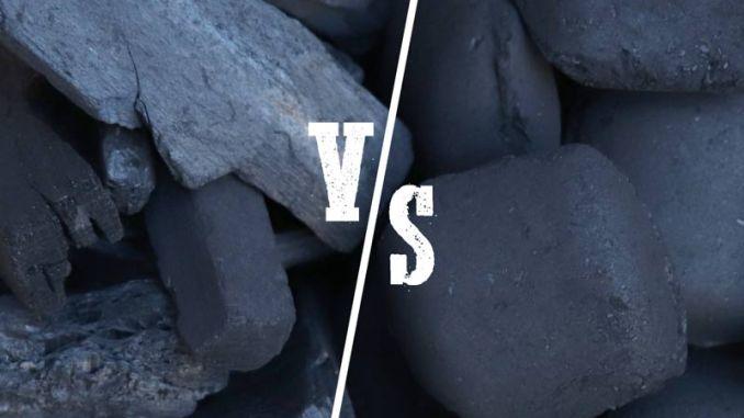Kohle vs Briketts