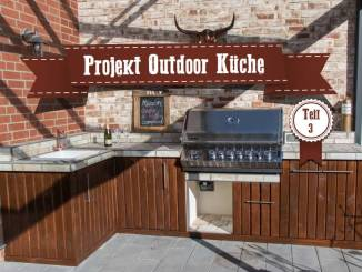 Outdoor Kitchen Teil 3