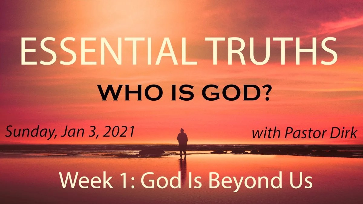 Who Is God week 1 image