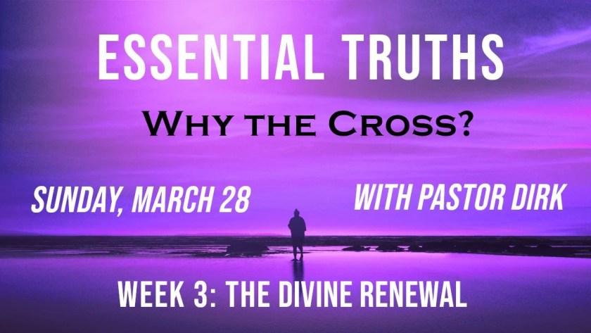Why the Cross? Week 3 Logo