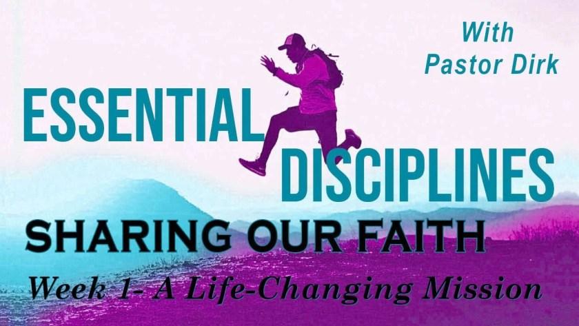 sharing our faith - week 1 - logo