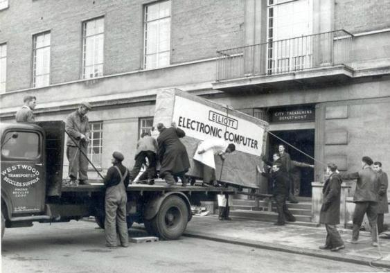 norwich council first computer