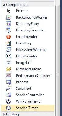 Windows Service Timer Renamed