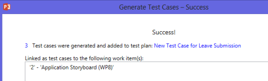 Test Cases Generated Successfully