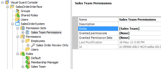 Permission Set Role Added