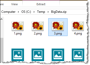 encrypted files no preview