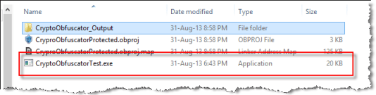 file size before obfuscation