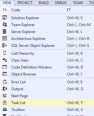 Visual Studio 2013 Custom Tokens