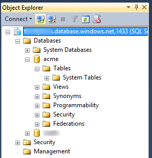 Azure Databases