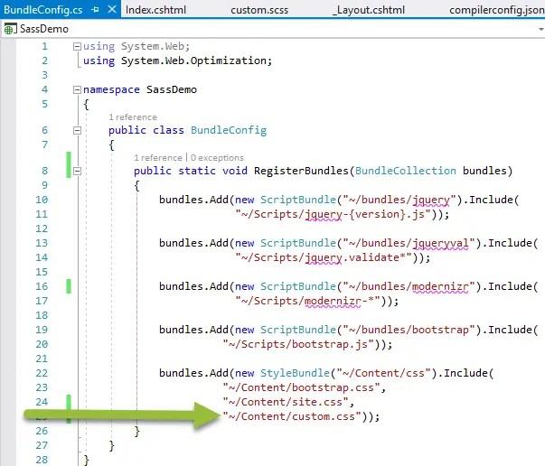 Edit BundleConfig file