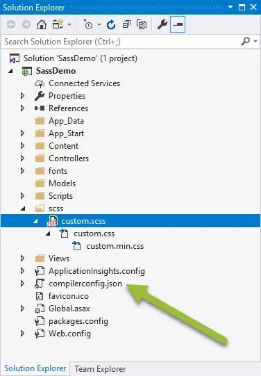 Locate compiler config file