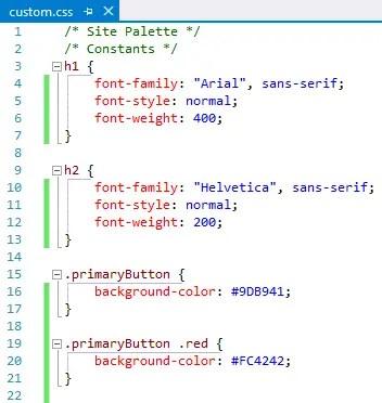 Sassy CSS generated CSS