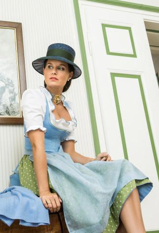 Dirndl Österreich - Leinendirndl Susanne Spatt