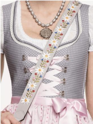 Limberry Dirndl, Accessoires - breiter Taschengurt