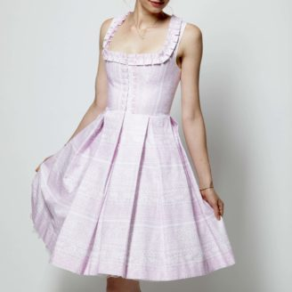 Heidi Couture Dirndlkleid rosa