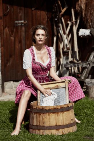 Lucia Dirndl - Lena Hoschek Frühjahr/Sommer 2018 - österreichische Dirndl