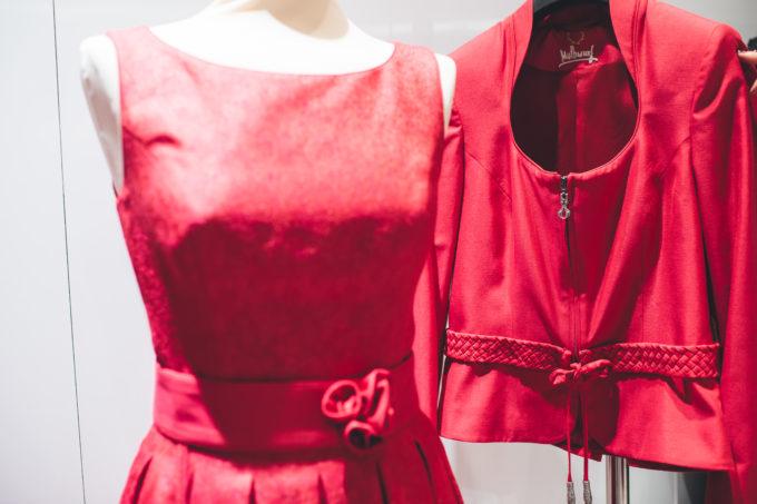 Trachtenkleid rot, Mothwurf - fotocredit Reed Messe Salzburg GmbH / Marco Riebler