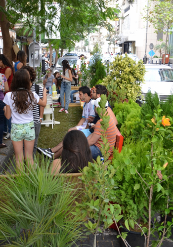 AUB Landscape Society celebrates Park(ing) Day / outlookaub.com