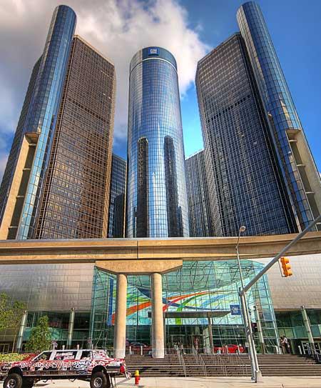 Renaissance Center, Detroit / Wikipedia