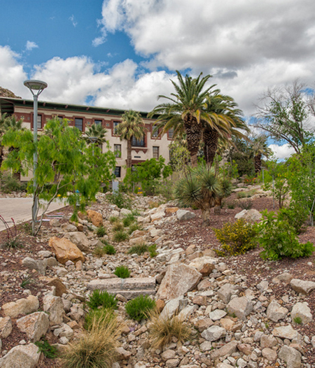 University of Texas at El Paso arroyos / Ten Eyck Landscape Architects