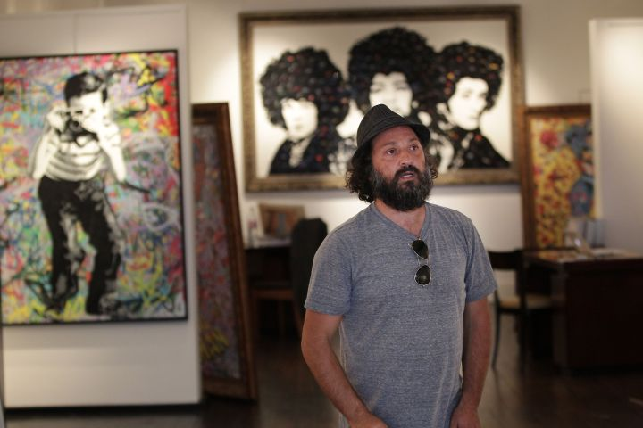 Mr  Brainwash writes a $3 million check in the Hollywood