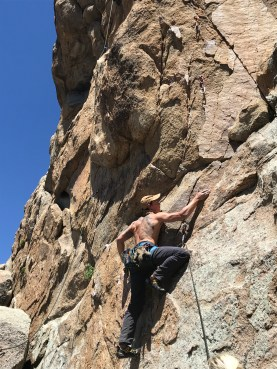 Climbing in Holcomb