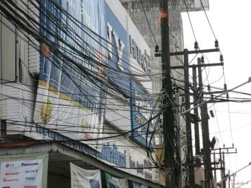High tech wiring in Phuket