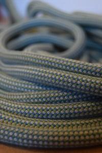Climbing rope blue