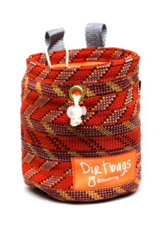 recycled rope chalk bag dirtbags