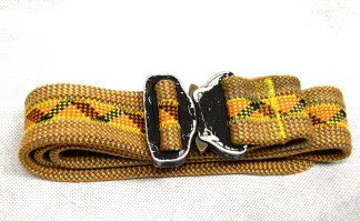 Sustainable fashion, recycled rope gift for climber