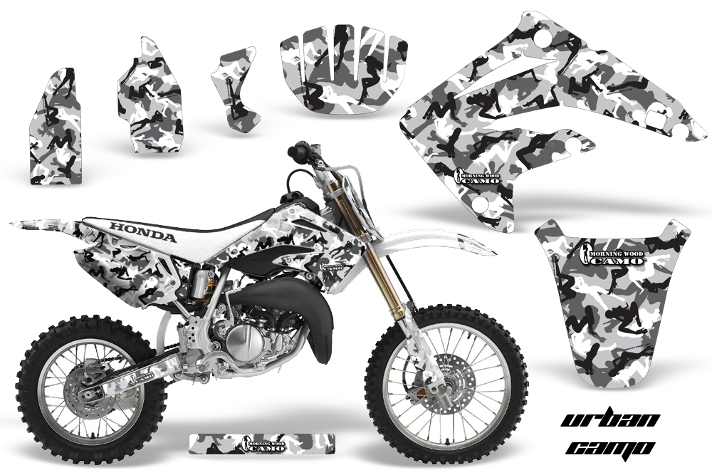Honda CR85 Graphics Kit UC W NPs