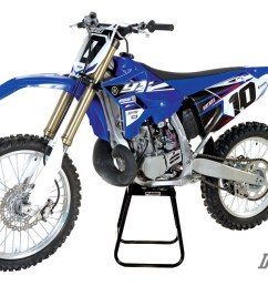 survival of the fittest the yamaha yz250 2 stroke story dirt bike 2002 yamaha yz 125 wiring diagram [ 1200 x 801 Pixel ]