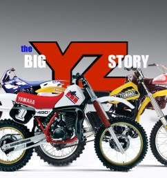 mx history the yz400 two stroke [ 1416 x 795 Pixel ]