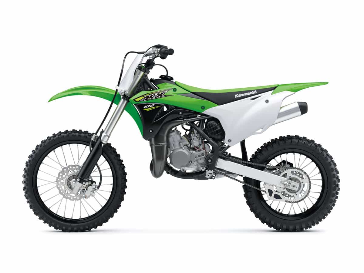 hight resolution of in order to create the kx100 kawasaki gave the kx85 a 4mm increase in bore a larger keihin carburetor and larger wheels the front is a 19 incher