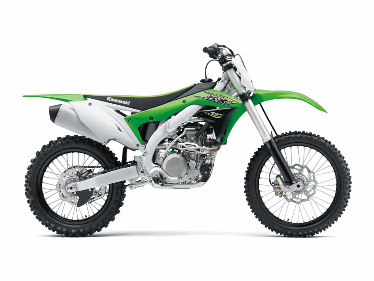 hight resolution of in 2016 the kawasaki kx450f had an all new chassis and a mostly new motor and it hasn t changed much since then it s one of the few kick start bikes in