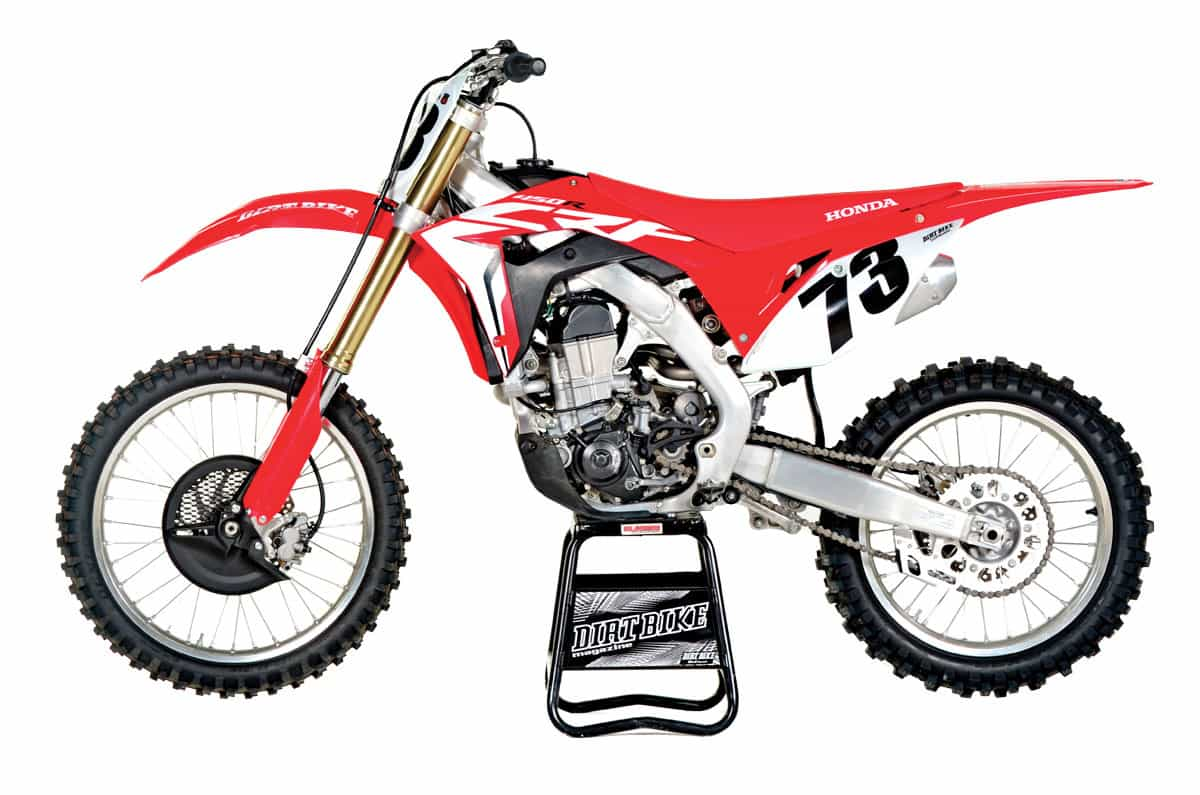 hight resolution of honda crf450r 9149 in 2017 this was the most highly anticipated motocross bike on the scene it was all new with a spring showa fork and a reconfigured