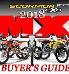 2018 mx bike buyer s guide [ 1500 x 800 Pixel ]