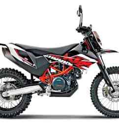 ktm made no changes to its flagship dual sport bike for 2018 it shares the same motor and chassis with the husqvarna 701 enduro so it too  [ 1200 x 801 Pixel ]
