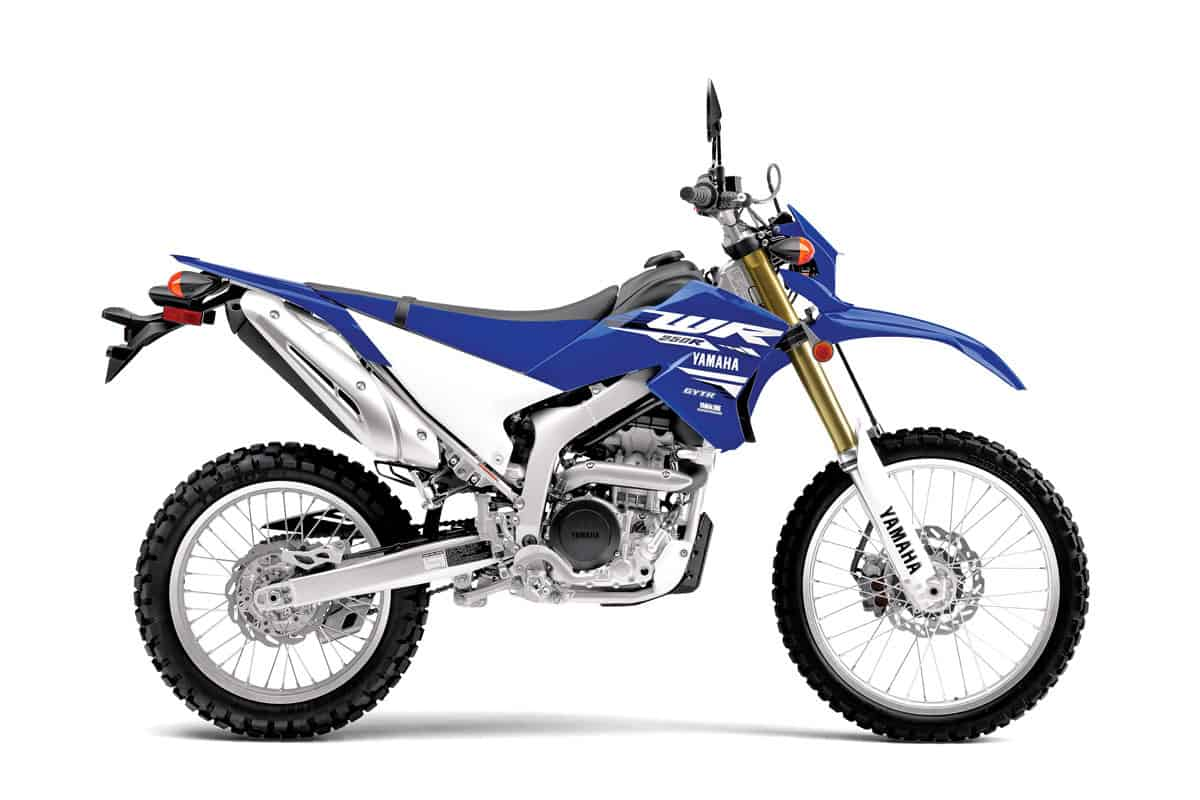 hight resolution of of the japanese 250cc dual sport offerings the yamaha s wr250r offers the most performance in both the motor department and the suspension