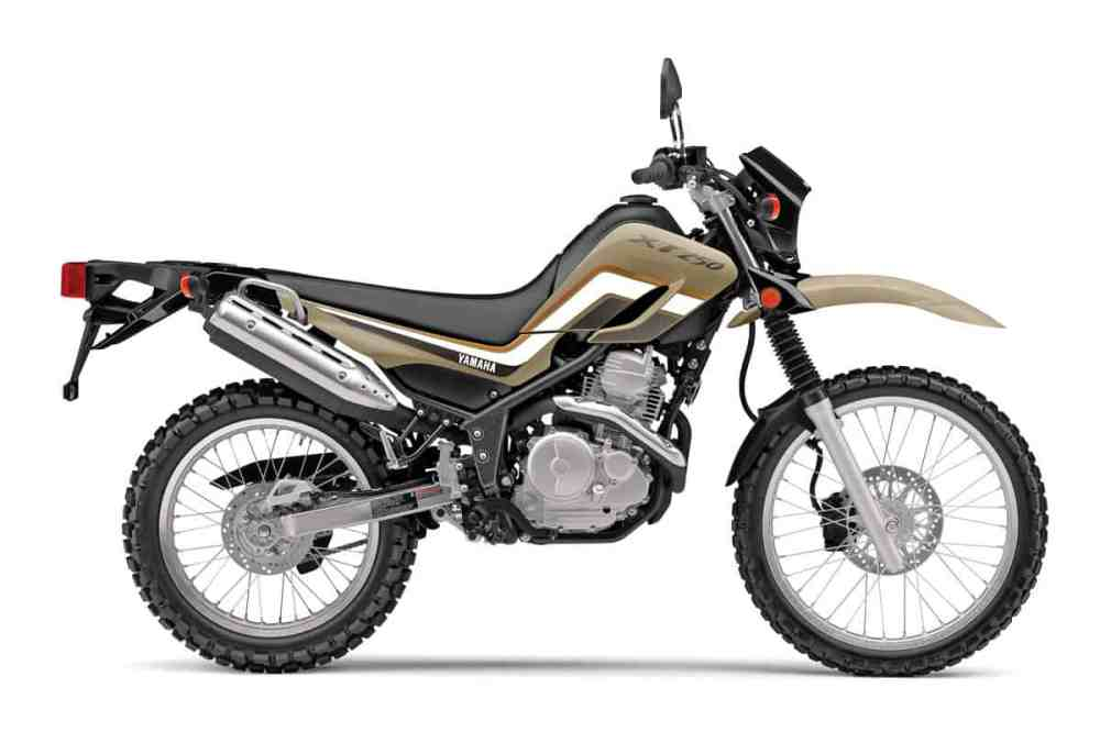 medium resolution of in order to compete price wise with the honda crf250l and the kawasaki klx250 yamaha offers a second model in the 250 dual sport category