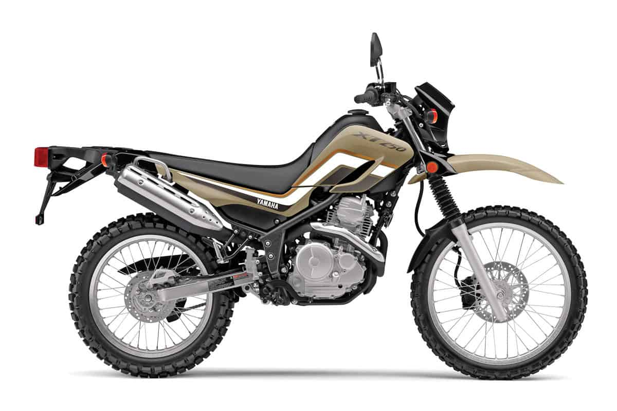 hight resolution of in order to compete price wise with the honda crf250l and the kawasaki klx250 yamaha offers a second model in the 250 dual sport category