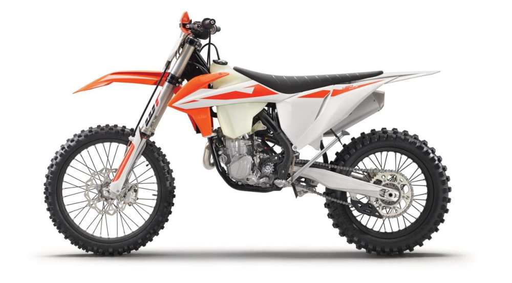 medium resolution of the 2019 ktm 450xc f will get the smae motor and chassis updates that we