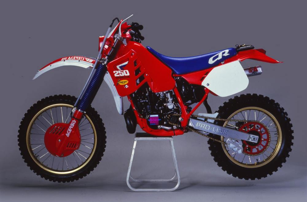 medium resolution of giles lalay the overall winner of the 1985 i s d e on a modified cr250 was instrumental in the development of both the wide ratio transmission designed by