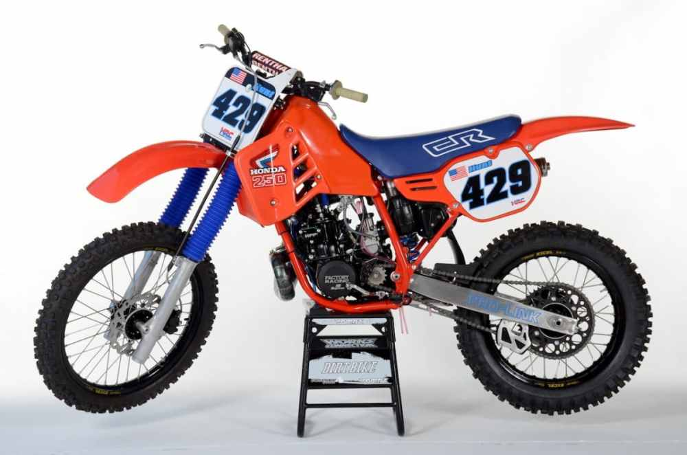 medium resolution of now i am certainly not the first guy to do a 1986 resto however most pay tribute to rj s factory bike or they look very similar to how they came off the