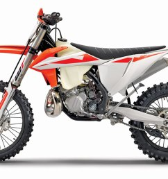 do you like your off road two strokes with good old fashioned carburetors ktm thought you might so the 300xc gets to keep its 38mm mikuni  [ 1200 x 671 Pixel ]