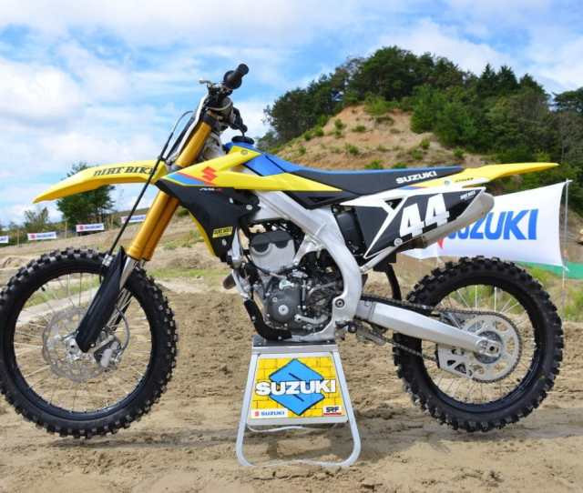 The Good News Is That The Long Awaited 2019 Suzuki Rm Z250 Has Been Revealed Suzuki Pulled The Sheets Off Of It Earlier This Week
