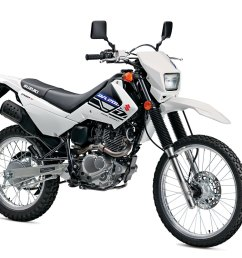 this machine has been in the suzuki line consistently mainly because it s a very capable commuter and minor off road excursion machine the bike has an  [ 1200 x 800 Pixel ]