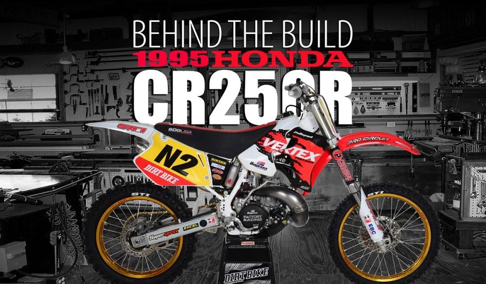 medium resolution of 1995 honda cr250r behind the build