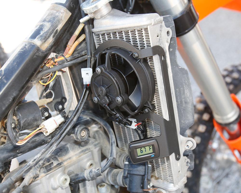 2005 Wr450f Wiring Diagram Trail Tech Digital Radiator Fan Kit Dirt Bike Test