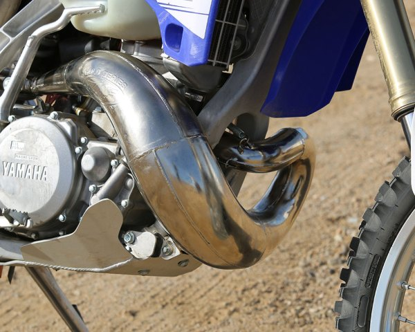 Product Test Scalvini Yz125 Exhaust Dirt Bike Magazine